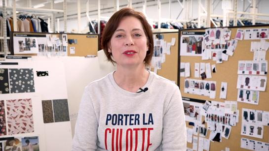 Françoise, styliste à La Redoute