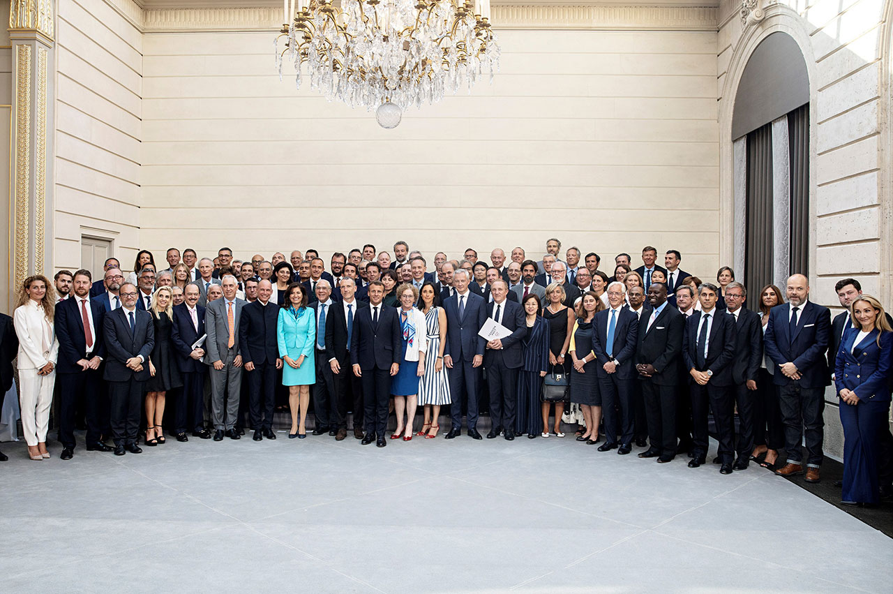 G7 coalitions Fashion Pact Élysee